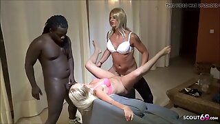 MILF KacyKisha Fuck after Facial from Shemale by BBC German
