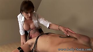 lady Sonia strapped Down And boinked Hard